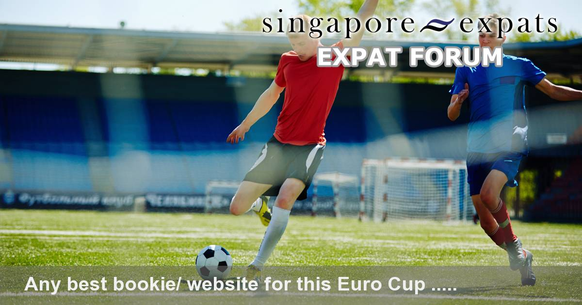 Football betting forum singapore expat today s racecards and betting on sports